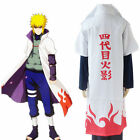 Naruto Namikaze Minato Yondaime the 4th Hokage Robe Cloak Only Track Number