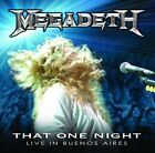 MEGADETH - That One Night: Live In Buenos Aires - CD ** Very Good condition **