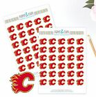Calgary Flames Planner Stickers - Perfect for all Planners like Erin Condren $2.5 USD on eBay