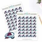 Colorado Avalanche Planner Stickers - Perfect for all Planners like Erin Condren $4.0 USD on eBay