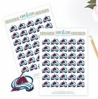 Colorado Avalanche Planner Stickers - Perfect for all Planners like Erin Condren $3.75 USD on eBay