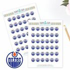 Edmonton Oilers Planner Stickers - Perfect for all Planners like Erin Condren $3.5 USD on eBay