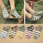 Fashion Mens Star Socks Ankle Low Cut Stripe Casual Cotton Sock LA