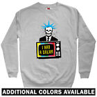 I Had A Dream Men's Sweatshirt - Crewneck S-3X - Gift  Politics Political Art