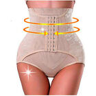 AU Women Underbust High Waist Body Cincher Tummy Thong Panty Shorts Shaper Slim