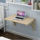 Wall Mount Floating Folding Computer Desk For Home Office PC Table Charming