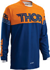 THOR Racing phase VENTED ORANGE BLUE Jersey motocross off road adult mens KTM