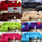 SALE L Shape Stretch Elastic Fabric Sofa Cover Sectional /Corner Couch Covers