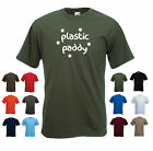 'Plastic Paddy' - St Patrick's Day, Saint Patricks Day Mens Funny Gift T-shirt