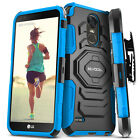 LG Stylo 3 / Stylo 3 Plus Case, Evocel Dual Layer Case with Kickstand & Holster