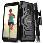 LG Stylo 3 / Stylo 3 Plus Case, Evocel Dual Layer Case with Kickstand& Holster