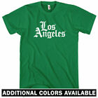 Los Angeles Gothic T-shirt - Men S-4X - Gift Dodgers Lakers Chargers Rams LA 310 $24.99 USD on eBay