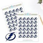 Tampa Bay Lightning Planner Stickers - Perfect for a Planners like Erin Condren $2.5 USD on eBay