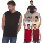 Mens Sleeveless Sports T-Shirt Tank Top Cotton Gym Vest Fitness Bodybuilding NEW
