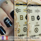 nail art logo marque deco ongles stickers neufs