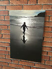 CANVAS PRINT Your Photo Picture on a Large Personalised Box Wall Art Framed New