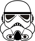 Stormtrooper -Star Wars inspired Vinyl Decal for Laptop Macbook or Car $2.25 USD