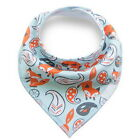 100% Cotton Fiber Baby Bibs Double Layers Newborn Burp Bib Kid Bandana