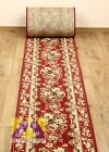 AMAZING HALL CARPET RUNNER GOLD COLLECTION RED BORDO/ BROWN  MODERN