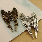 5-100pcs 39x24mm antique alloy Angel wings Charms Making pendants Jewelry