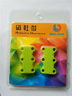 1Pair Magnetic Casual Sneaker Shoe Buckles Closure No-Tie Shoelace New Hot E9