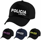 Baseball CAP POLICIA Local Polizei Police Kappe Bikercap auch mit Wunschname