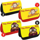 CURIOUS GEORGE Personalised Pencil Case Make Up Bag School Any Name Kids Gift