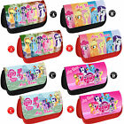 MY LITTLE PONY Personalised Pencil Case Make Up Bag Any Name Girls Gift School