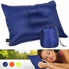 Camping & Travel Pillow, Comfortable & Compressible - Backpacking, Planes, Cars