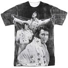 Elvis Presley LEGENDARY PERFORMANCE 1-Sided Sublimated Big Print Poly T-Shirt