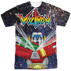Voltron SPACE DEFENDER 1-Sided Sublimated Big Print Poly T-Shirt