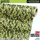 MINI JUNGLE Camouflage Vinyl Vehicle Car Wrap Camo Film Sheet Roll Adhesive