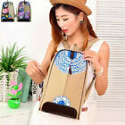 New Style Women Hand-Printed Canvas Fashion Backpack Girl Shoulder School Bag