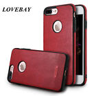 Luxury Ultra-thin PU Leather Soft TPU Back Skin Case Cover For iPhone 7 6s Plus