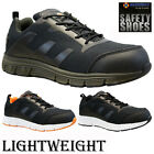 NEW MENS ULTRA LIGHTWEIGHT STEEL TOE CAP SAFETY WORK TRAINERS SHOES BOOTS SIZE