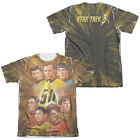 Star Trek Original Series 50TH ANNIVERSARY CREW 2-Sided Poly Cotton T-Shirt