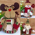 Lovely Santa Claus Reindeer Christmas Snowman Statue Decorative Ornaments NC8901