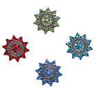 Wholesale Lots Rhinestone Alloy Snaps Buttons Fit 18mm Jewelry Making Q