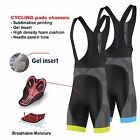 FDX Mens Classic Bib shorts Gel Padded Stylish Cycling Bib Trouser Tight Shorts