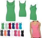 LADIES LIGHTWEIGHT, TRI-BLEND, CASUAL TANK TOP, PRE-WASHED, LONGER LENGTH XS-2XL