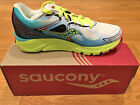 Women's Saucony Kinvara 6 Running Shoes White / Blue / Coral