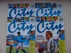 Manchester City Home Programmes 1998/99