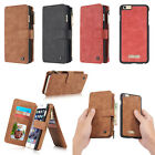 CaseMe Magnetic Cover Wallet Leather Case Stand for iPhone 5 SE 5S 6 6S 7 Plus