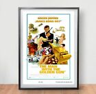 James Bond 007 The Man With The Golden Gun Movie Poster Film Vintage Retro Print £7.59 GBP on eBay