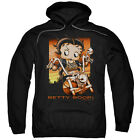 Betty Boop SUNSET RIDER on Motorcycle Bike Licensed Sweatshirt Hoodie $68.05 USD on eBay