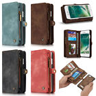CaseMe Magnetic Cover Wallet Leather Case Slot Stand for iPhone 6 6S Plus 7 Plus