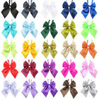 Wholesale Women's Pure Color Satin Novelty BIG Bow Tie Wedding Gift Butterfly