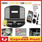 Car phone Mount Cradle Holder Dock Genuine REMAX UNIVERSAL charger iPhone/Galaxy
