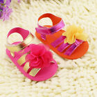Infant NEW Toddler Baby Soft Sole Crib Shoes Sandals Newborn 0-18Months BS003