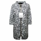 C0372 giacca donna HERNO blu/bianco impermeabile trench jacket woman
